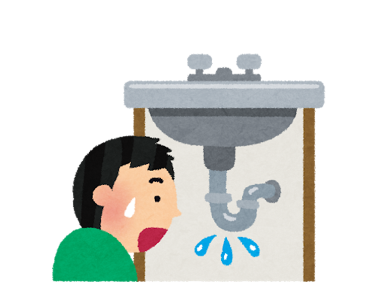 給水管から水漏れの原因は?
