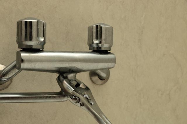 2ハンドル型混合水栓の修理